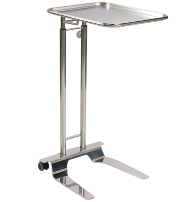 Pedigo Hand Operated Mayo Stand with Tray Stainless Steel - Alternative Source Medical