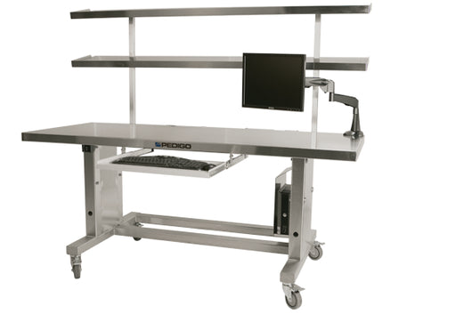 Pedigo Instrument Table 72 X 30 Inch Stainless Steel - Alternative Source Medical