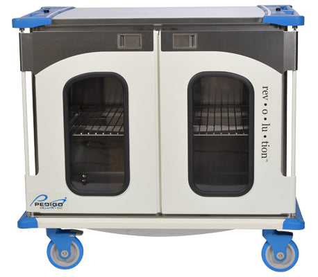 Pedigo Revolution Enclosed Surgical Case Cart with Double Door - Alternative Source Medical