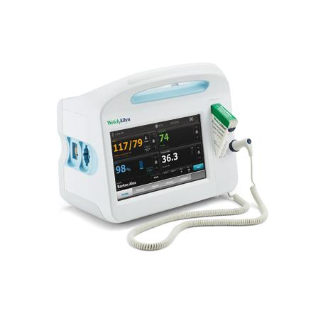 Welch Allyn 67MCTP-B Connex® Continuous Vital Signs Monitor with Masimo SpO2, Oral/Rectal Thermometry, Covidien Capnography & Printer - Alternative Source Medical