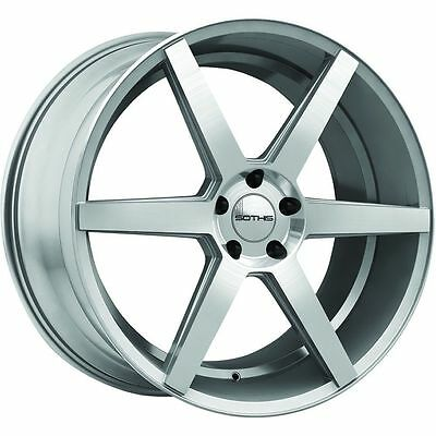 SOTHIS SC-2 22X10.5+35 5X120 SLIVER MACHINED