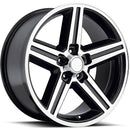 20X9 5x4.75 5x4.75 Rev 0mm 652Mb Black Machined