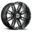 SCORPION SC18 22X12-44 6X5.5/6X135 GLOSS BLACK AND MILLED