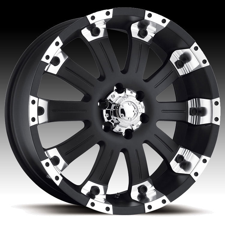 ULTRA 228 MAMMOTH BLACK 20X9 5X150 RWD+35