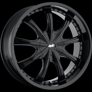 20X8 5x4.5 5x4.25 5x120 5x120 Mkw 40mm Avenue Black Mach Face