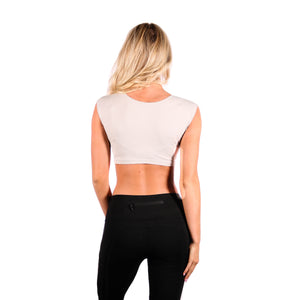 Cap Sleeve Crop Top