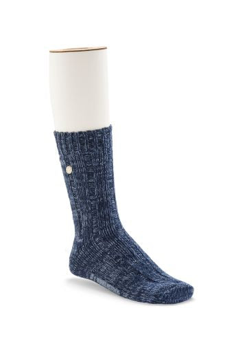 BIRKENSTOCK COTTON TWIST SOCK / BLUE
