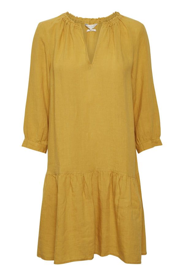 PART TWO CHANIA DRESS (GOLDEN SPICE)