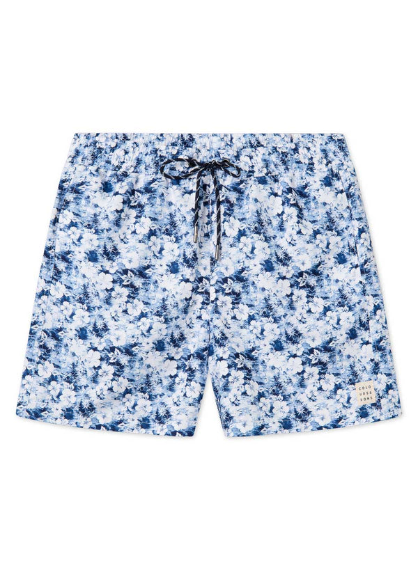 COLOURS & SONS SWIMSHORT (BLUE FLOWERS)