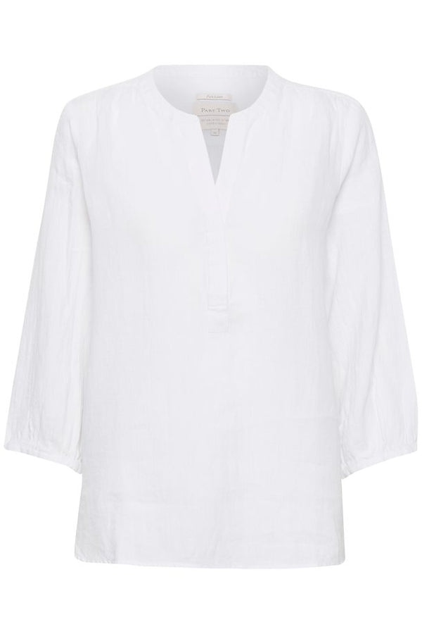 PART TWO LYDIA SHIRT (BRIGHT WHITE)