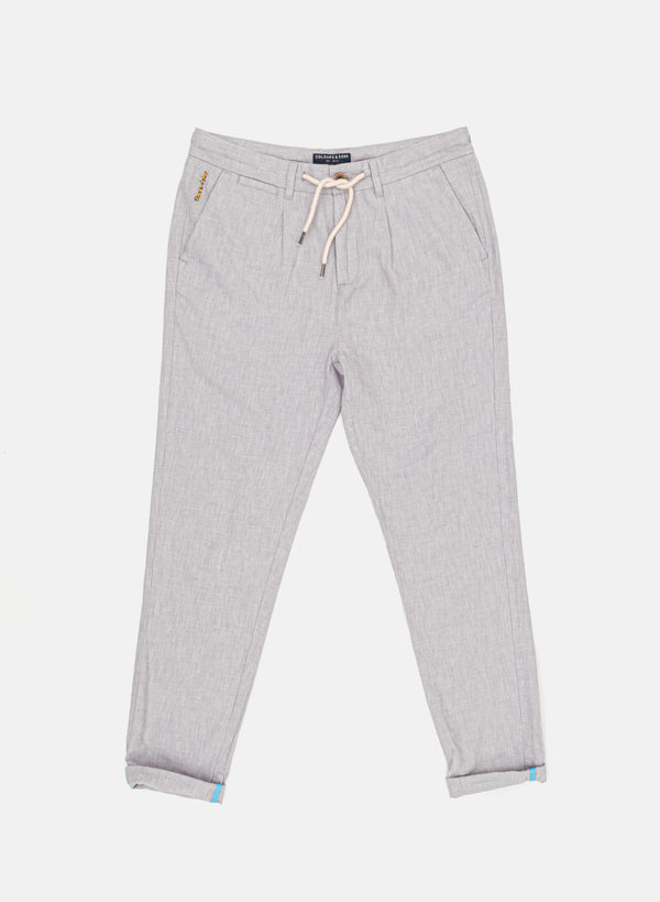 COLOURS & SONS JEREMY TROUSER / GREY