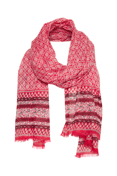 Part Two KIRANDA Scarf (Artwork Red)