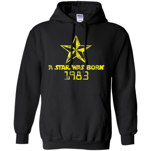 A Star Was Born 1983 Pullover Hoodie