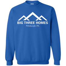 BIG THREE HOMES Crewneck Pullover Sweatshirt