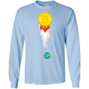 Bitcoin Rocket Ultra Cotton T-Shirt