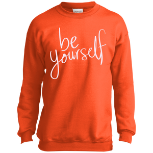 Kids Be Yourself Crewneck Sweatshirt