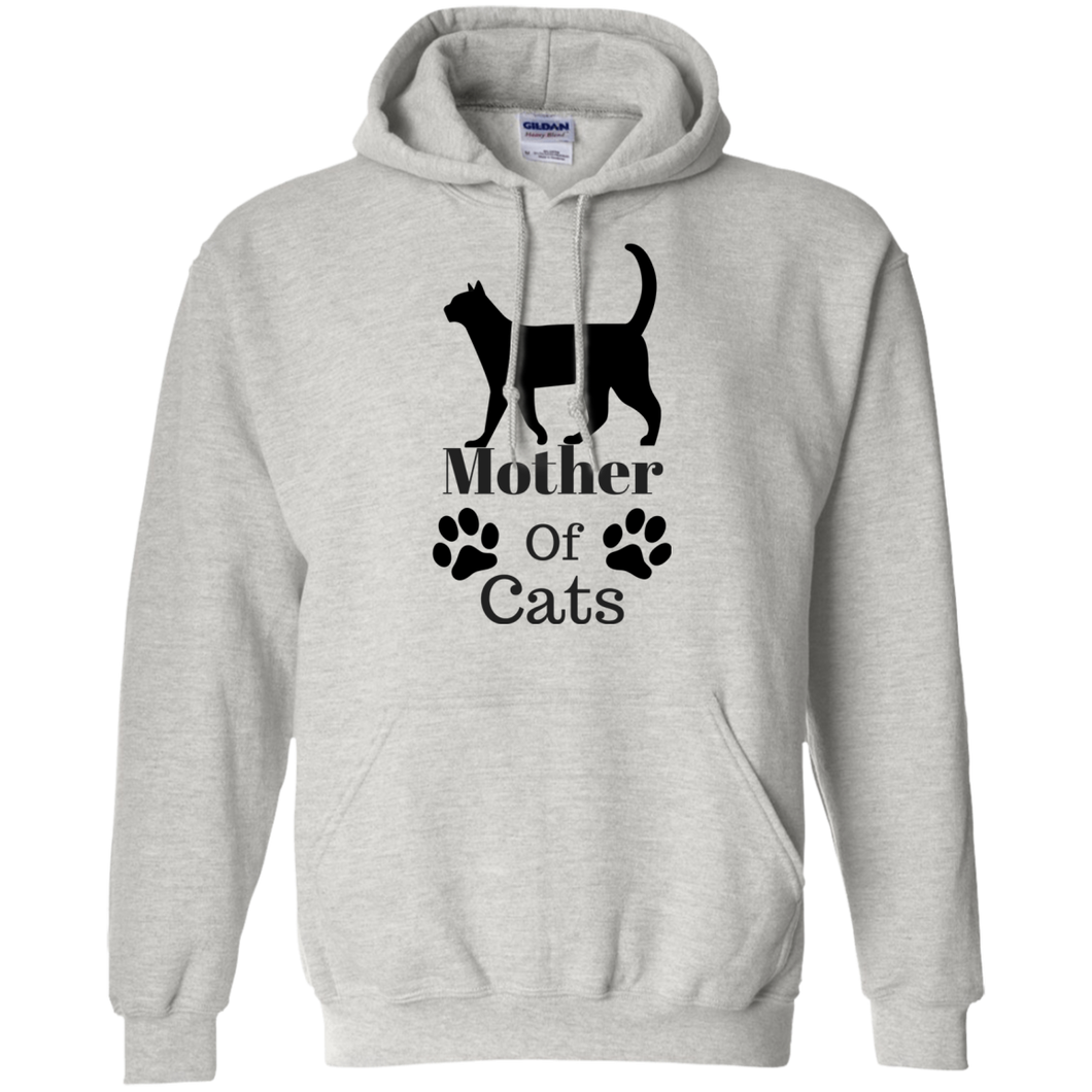 Mother Of Cats Pullover Hoodie