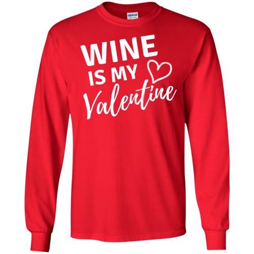 Wine is my Valentine Ultra Cotton T-Shirt