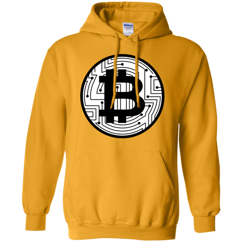 Bitcoin Pullover Hoodie