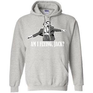 Am I Flying Jack Pullover Hoodie