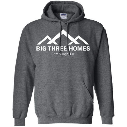 BIG THREE HOMES Pullover Hoodie