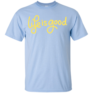 Kids Life Is Good Cotton T-Shirt