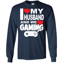 I Love My Husband And Gaming Ultra Cotton T-Shirt