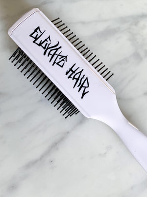 Elevate® 9 Row Brush - White