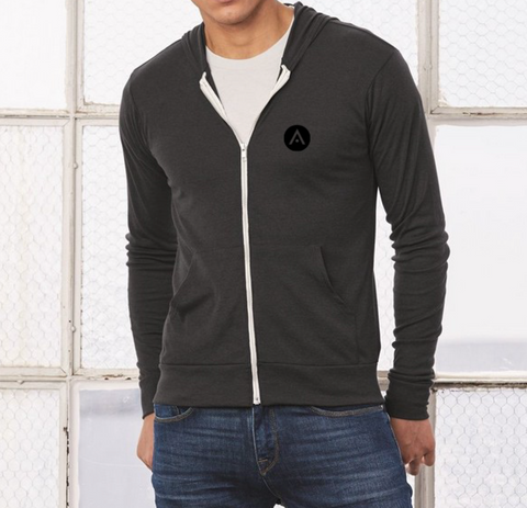 Aveda Arts Zip Up Sweatshirt