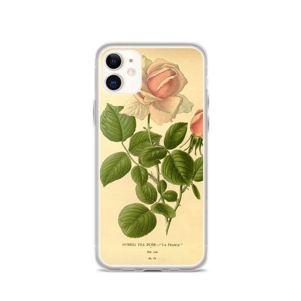 iPhone Case, Pink Rose Phone Case, Rose Case, Pink Flowers