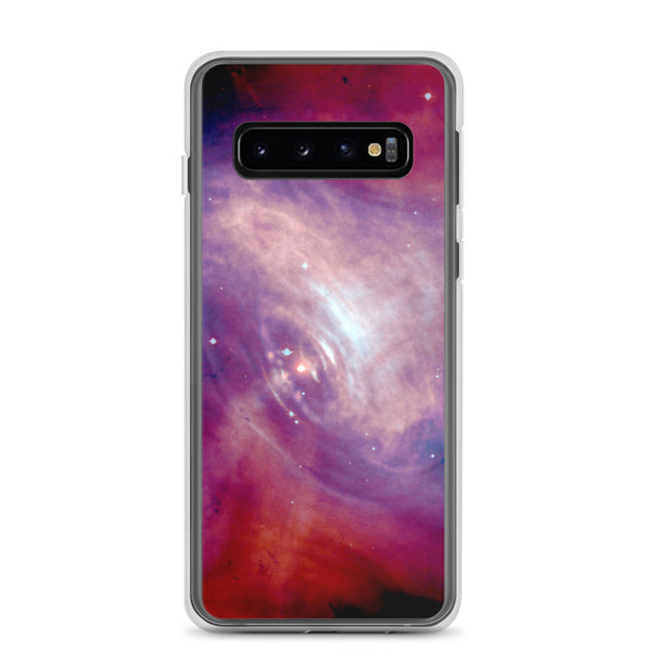 Samsung Case, Purple and Pink Swirling Galaxy, Space Case
