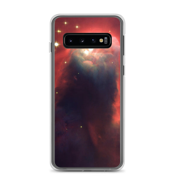 Samsung Case, Cone Nebula, Red and Purple Star, Galaxy In Space