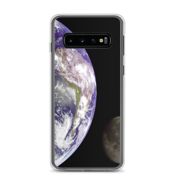 Samsung Case, Earth And The Moon