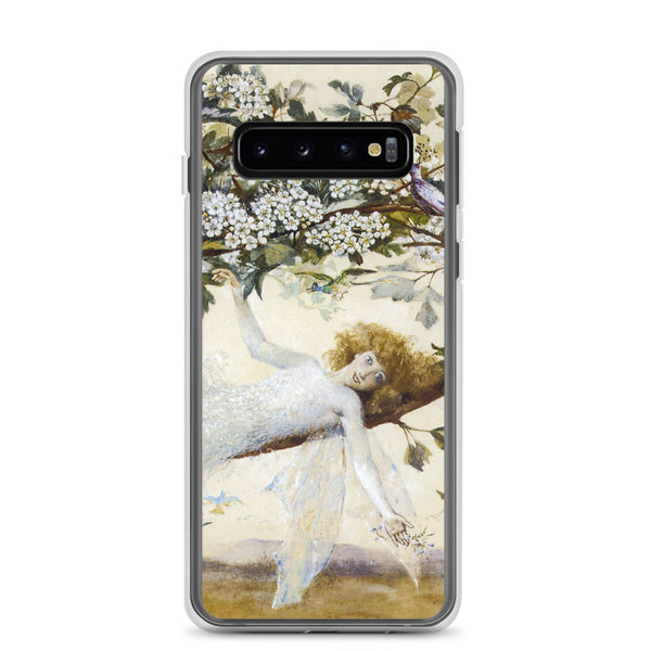 Samsung Case, Fairy Resting On Tree, Pixie, Nymph