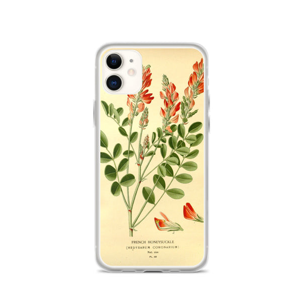 iPhone Case, Red Flowers