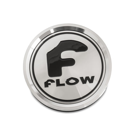 Flow Floating Cap in Chrome