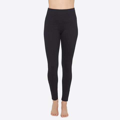 Yummie Quilted Moto Legging