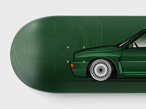 LANCIA DELTA INTEGRALE BRITISH RACING GREEN
