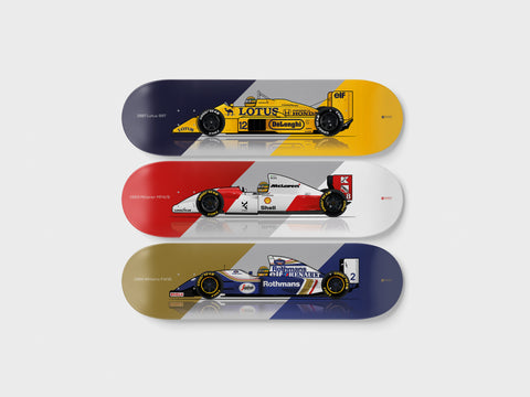 LEGENDARY FORMULA 1 3-PACK