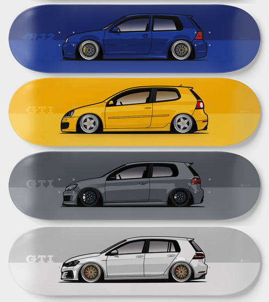 VOLKSWAGEN GOLF 7-PIECE PACK
