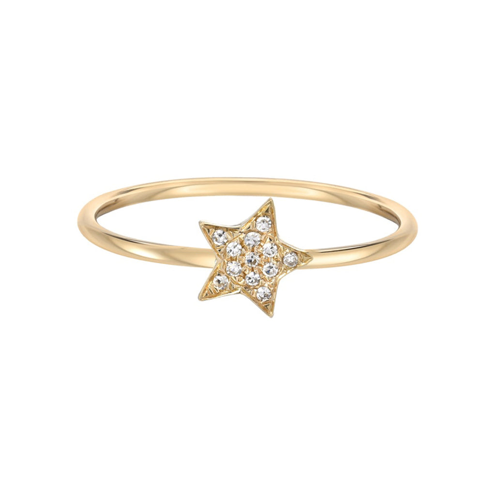 Diamond Star Ring