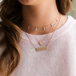 Pave Nameplate Necklace