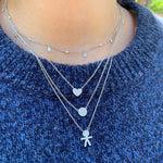 Boy Pave Necklace