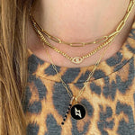 Pave Evil Eye Cuban Chain Necklace