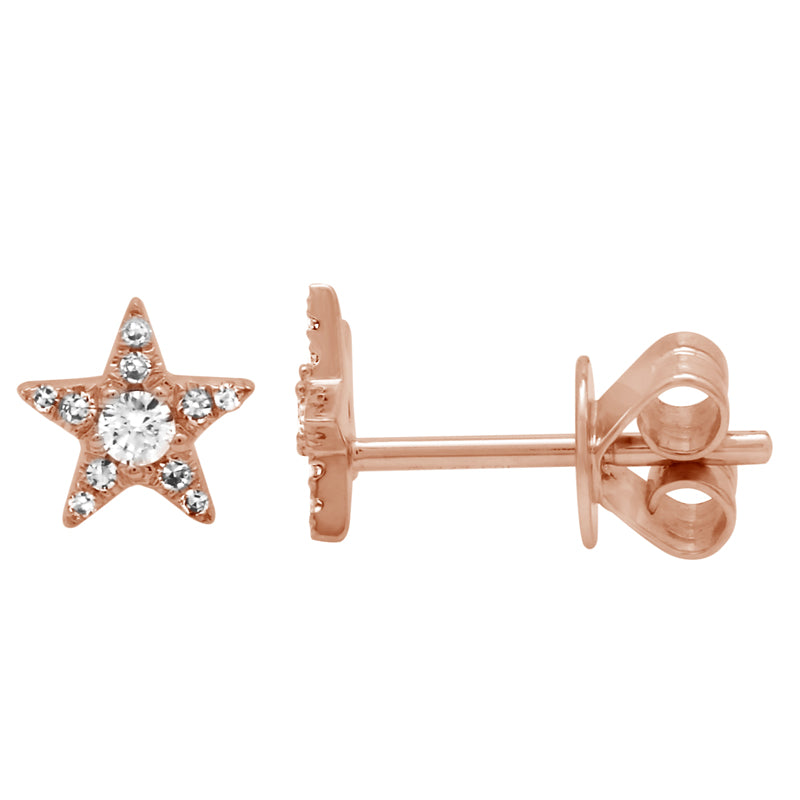 Mini Diamond Star Stud