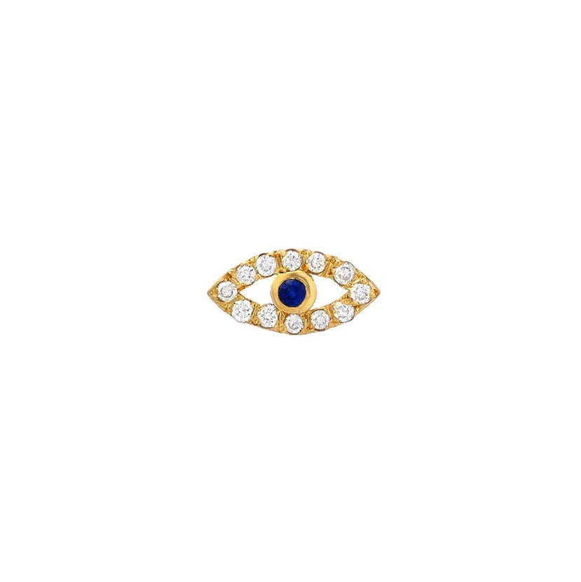 Diamond Evil Eye Charm