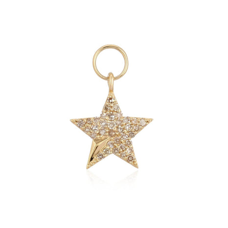 Pave Star Earring Mini Charm