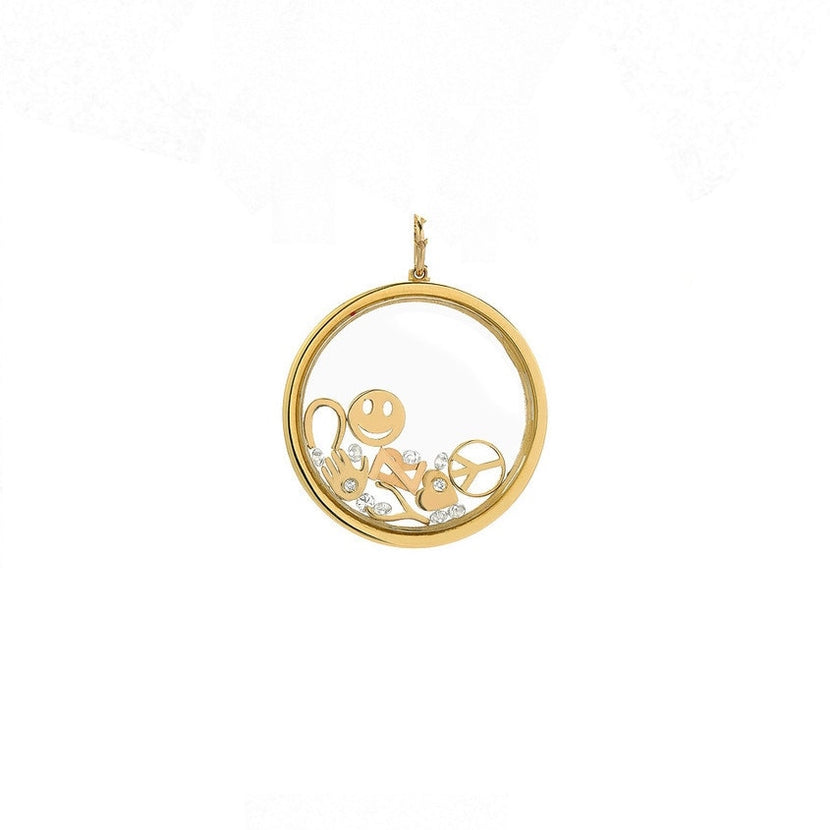 Small Gold Locket