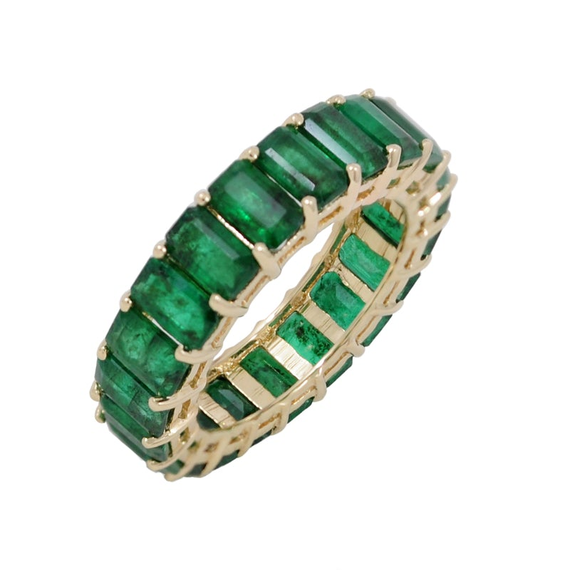 Emerald Ring Emerald Cut