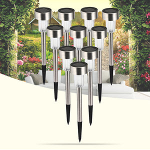 10pcs Solar LED Lawn Lights